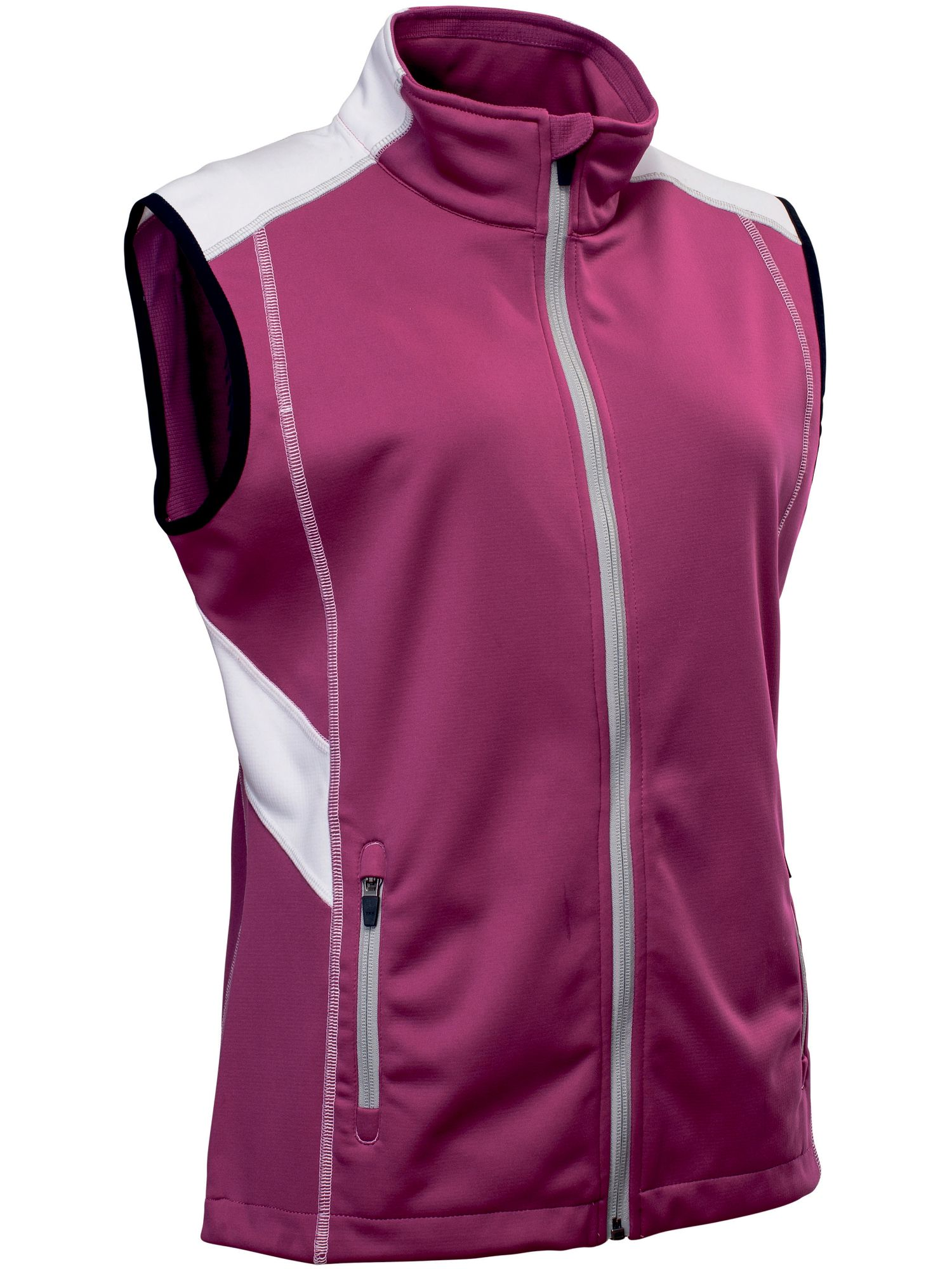 Abacus Aberdeen Softshell Gilet, Purple Review thumbnail