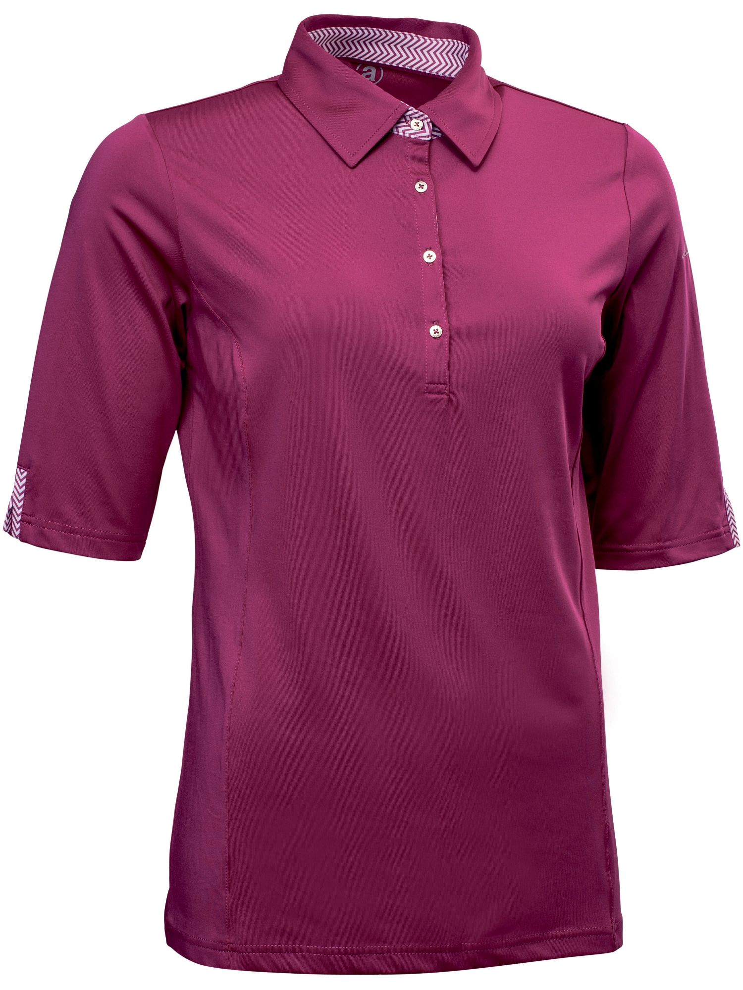 Abacus Karin 1/2 Sleeve Polo, Purple Review thumbnail